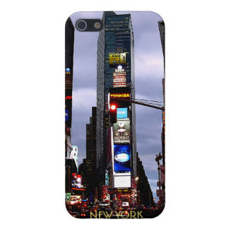 Caja del recuerdo del Times Square del caso del iP iPhone 5 Carcasas