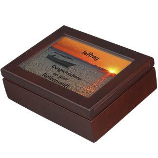 Caja del recuerdo, enhorabuena en el retiro cajas de recuerdos