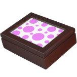 Caja del recuerdo, ircles rosados caja de recuerdos