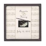 Caja del recuerdo para los músicos caja de recuerdo de calidad