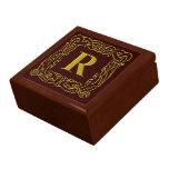 """Caja del recuerdo - """"R Dragón-Enmarcados Celtic """" Cajas De Regalo"""