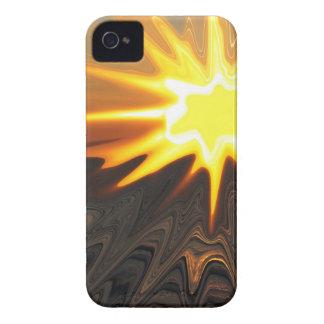 caja del resplandor solar iPhone4 Funda Para iPhone 4 De Case-Mate
