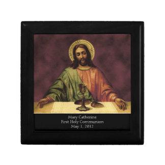 Caja del rosario Usted es nuestro lugar de vivien Cajas De Recuerdo