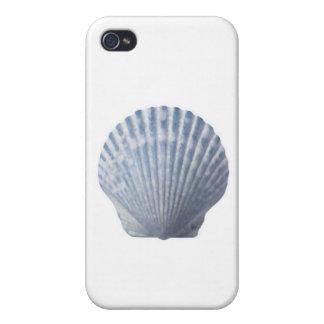 caja del Seashell del iPhone 4 iPhone 4 Protector