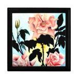 Caja del Special de las baratijas de los rosas del Caja De Recuerdo