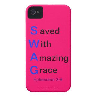 Caja del SWAG iPhone 4 Case-Mate Cárcasas