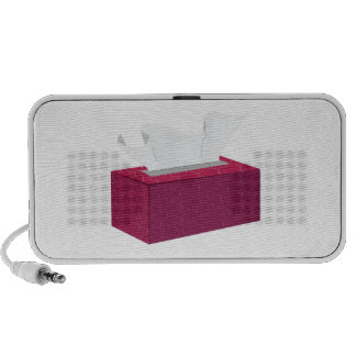 Caja del tejido laptop altavoz