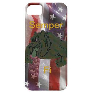 Caja del teléfono 5 de la bandera americana I del iPhone 5 Protectores