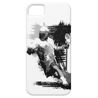 Caja del teléfono 5 del jugador I de LaCrosse iPhone 5 Case-Mate Fundas