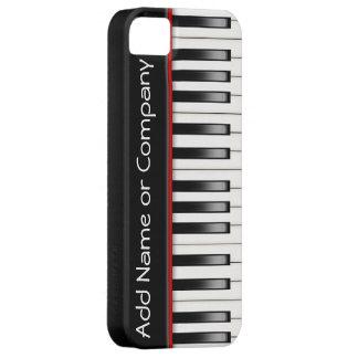 Caja del teléfono 5 del piano I personalizada Funda Para iPhone SE/5/5s