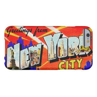 Caja del teléfono 6 de New York City I Funda Para iPhone 6 Barely There