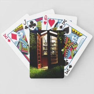 Caja del teléfono baraja de cartas