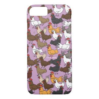 Caja del teléfono celular/cubierta - púrpura funda iPhone 7