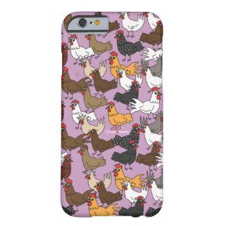 Caja del teléfono celular/cubierta - púrpura funda para iPhone 6 barely there