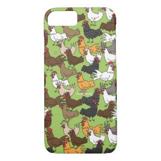 Caja del teléfono celular/cubierta - verde funda iPhone 7
