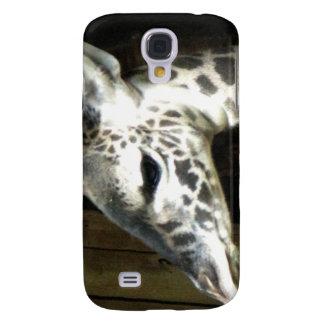 Caja del teléfono celular de la jirafa samsung galaxy s4 cover