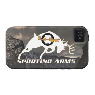 Caja del teléfono celular de los brazos de LHR que iPhone 4/4S Carcasas