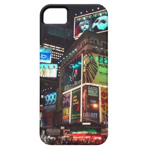 CAJA DEL TELÉFONO CELULAR DE NUEVA YORK DEL TIMES iPhone 5 CÁRCASA