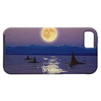 Caja del teléfono celular del arte de las orcas, d iPhone 5 Case-Mate cárcasa