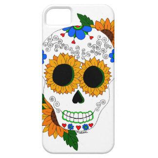 Caja del teléfono celular del cráneo del azúcar iPhone 5 Case-Mate cárcasas