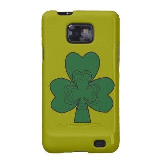 Caja del teléfono celular del día del St Patricks Galaxy SII Carcasa