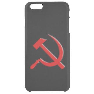 Caja del teléfono celular del martillo y de célula funda clearly™ deflector para iPhone 6 plus de unc