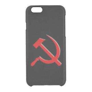 Caja del teléfono celular del martillo y de célula funda clearly™ deflector para iPhone 6 de uncommon