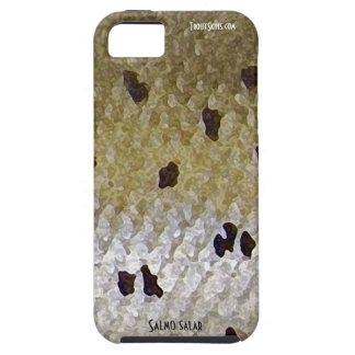 Caja del teléfono celular del salmón atlántico iPhone 5 carcasa
