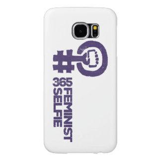 Caja del teléfono de #365FeministSelfie Funda Samsung Galaxy S6