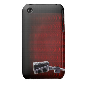 Caja del teléfono de Blackberry del micrófono iPhone 3 Cobertura