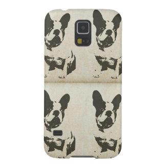 Caja del teléfono de Boston Terrier del vintage Carcasas Para Galaxy S5