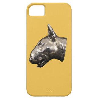 Caja del teléfono de bull terrier iPhone 5 fundas