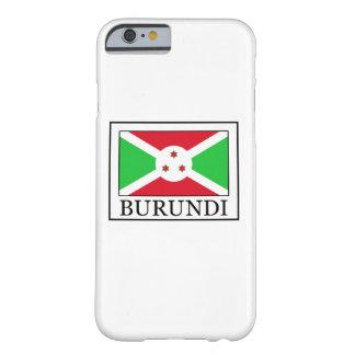 Caja del teléfono de Burundi Funda Barely There iPhone 6