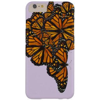 Caja del teléfono de Buterfly del monarca Funda Para iPhone 6 Plus Barely There
