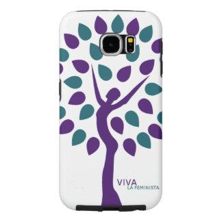 Caja del teléfono de Feminista del la de Viva Funda Samsung Galaxy S6