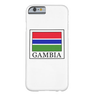 Caja del teléfono de Gambia Funda Para iPhone 6 Barely There