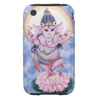 Caja del teléfono de Ganesha I Tough iPhone 3 Funda