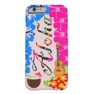 Caja del teléfono de Hawaii de la hawaiana Funda Barely There iPhone 6