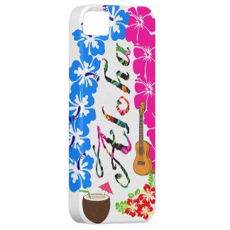 Caja del teléfono de Hawaii de la hawaiana Funda Para iPhone SE/5/5s