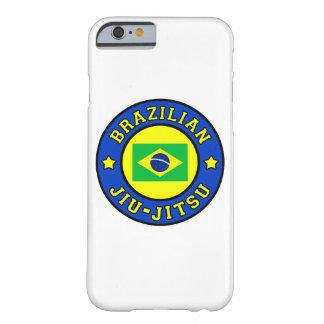 Caja del teléfono de Jiu-Jitsu del brasilen@o Funda De iPhone 6 Barely There