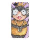 Caja del teléfono de la abeja reina I iPhone 5 Fundas