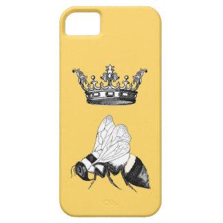 Caja del teléfono de la abeja reina iPhone 5 fundas