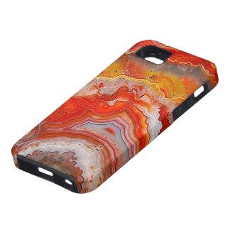 """""""Caja del teléfono de la ágata """" iPhone 5 Protectores"""