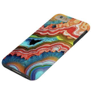"""""""Caja del teléfono de la ágata """" Funda De iPhone 6 Plus Tough"""