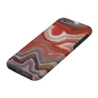 """""""Caja del teléfono de la ágata """" Funda De iPhone 6 Tough"""