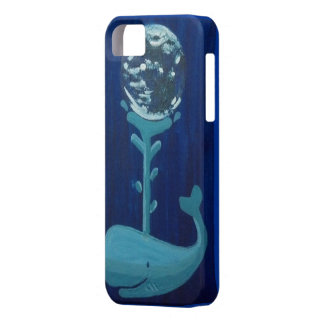 Caja del teléfono de la ballena de la tierra iPhone 5 carcasa