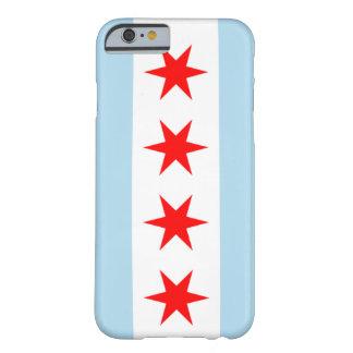 caja del teléfono de la bandera de Chicago del