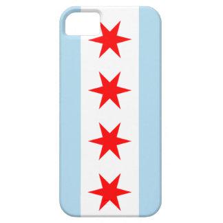 caja del teléfono de la bandera de Chicago del iPhone 5 Fundas