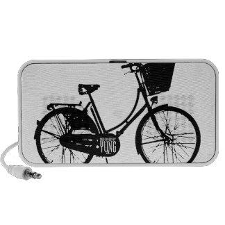 Caja del teléfono de la bicicleta iPod altavoces