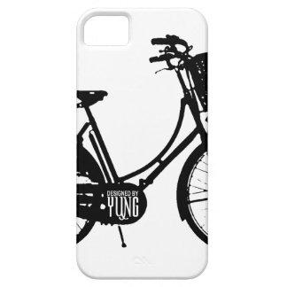 Caja del teléfono de la bicicleta funda para iPhone 5 barely there